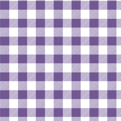 Medium Buffalo Plaid in Ultra Violet