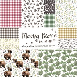 Mama Bear Fat Quarter Bundle Little Scale