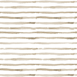 Peaceful Stripe in Soft Brown