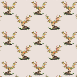 Small Meadow Deer in Light Tan