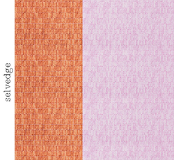 Wall Tile Single Border in Nectarine