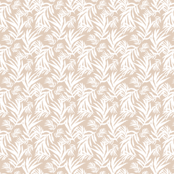 Palm Fronds in Natural Tan