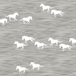 Wild Horses in Pebble