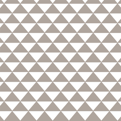 Triangle Mosaic in Taupe