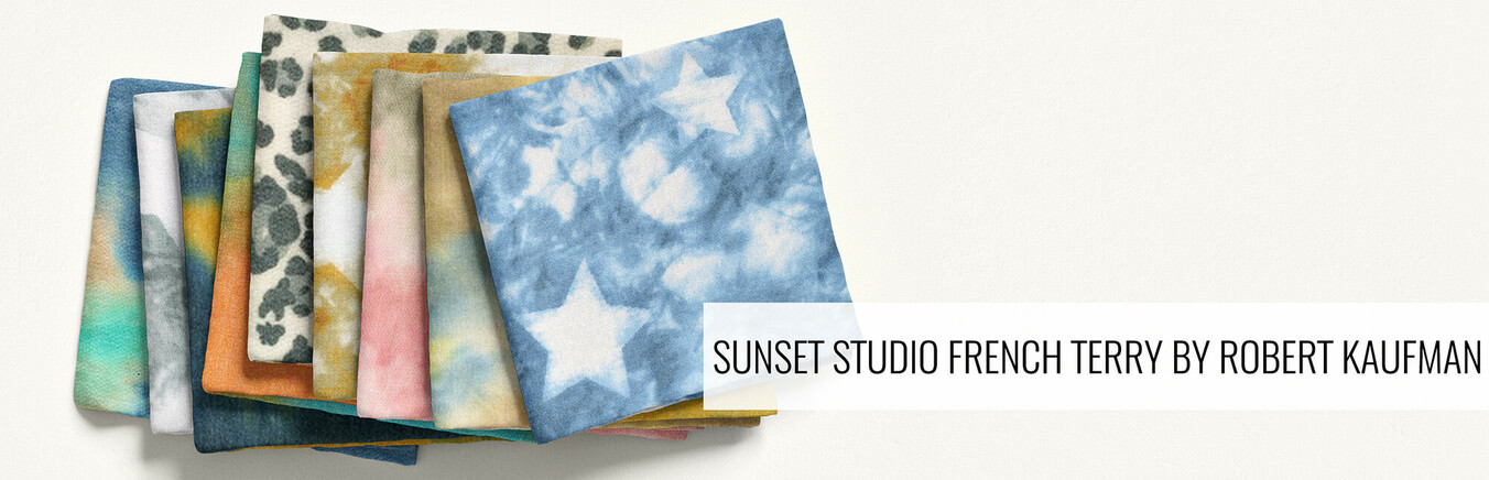 Sunset Studio French Terry by Robert Kaufman