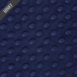 Minky Dimple Dot in Navy