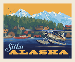 Poster Panel in Sitka