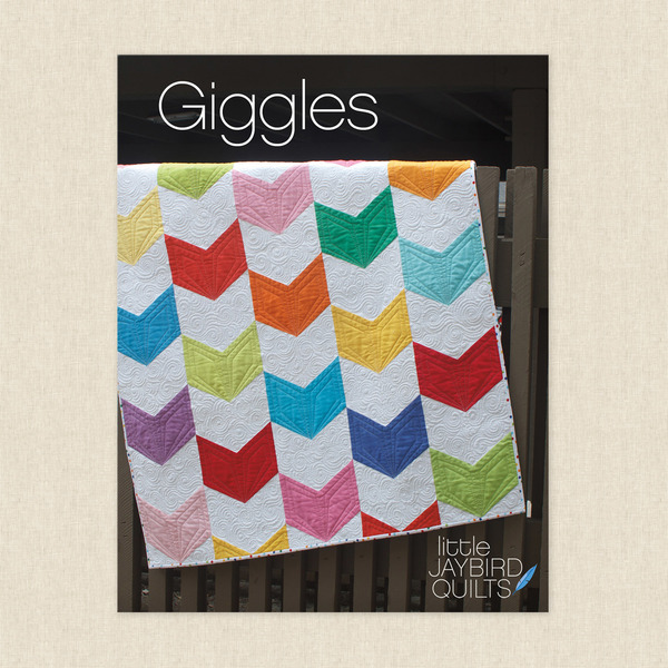 Giggles Baby Quilt Sewing Pattern by Jaybird Quilts at Hawthorne ...
