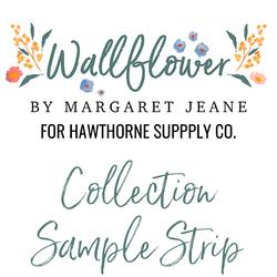 Wallflower Sample Strip