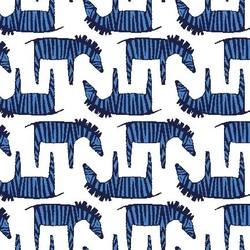Zig Zag Zebra in Azure