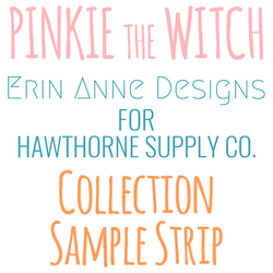Pinkie the Witch Sample Strip