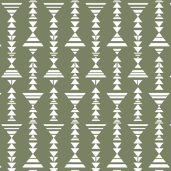 Little Tribal Stripe in Olive
