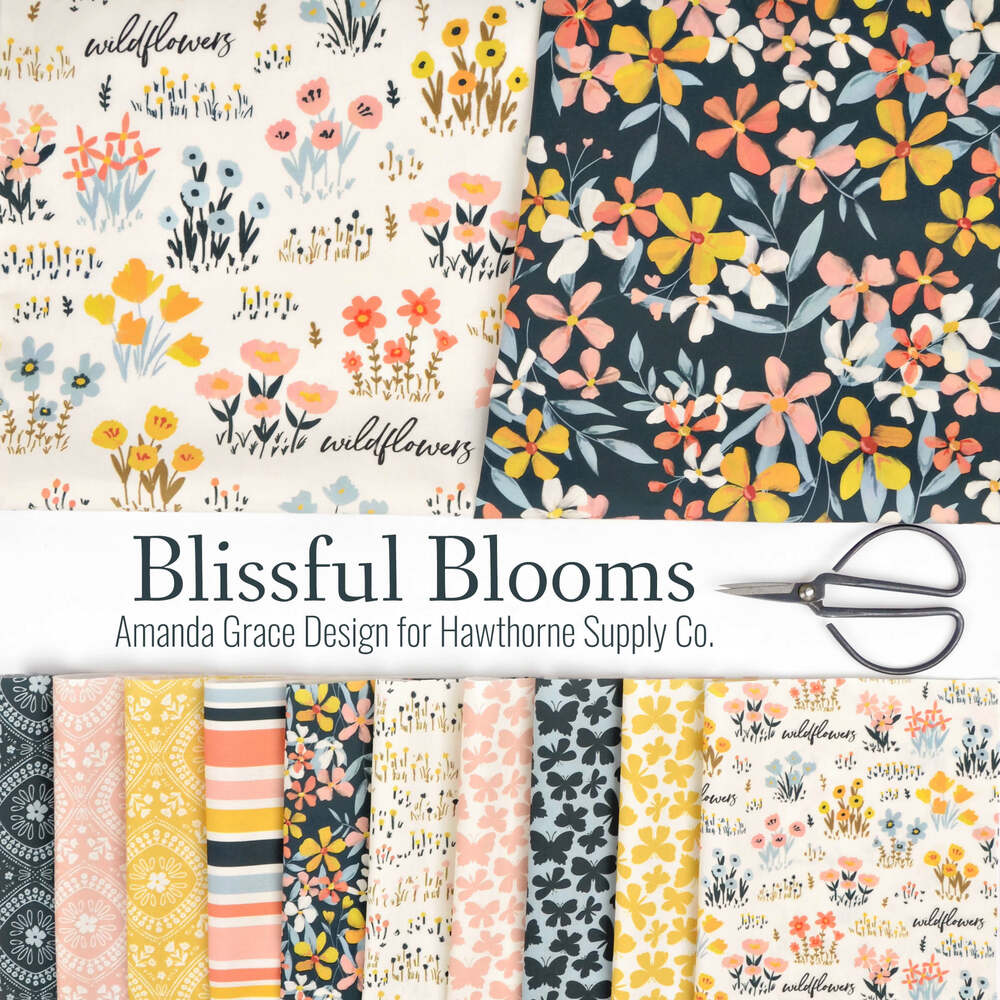 Blissful Blooms Poster Image