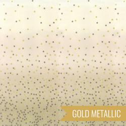 Ombre Confetti Metallic in Sand