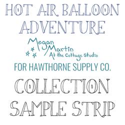 Hot Air Balloon Adventure Sample Strip