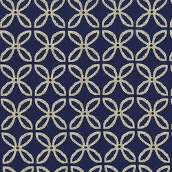 Clover Pearlized in Navy Bronze Twinkle