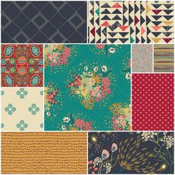 Indie Folk Fat Quarter Bundle in Memories