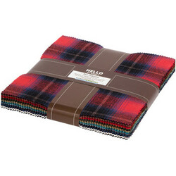 """Mammoth Flannel 10"""" Square Pack in 2020 New Colors"""
