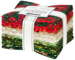 Artisan Batiks Fat Quarter Bundle in Holiday Moments