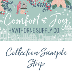 Comfort and Joy Sample Strip