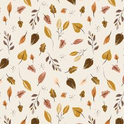 Leaves in Cream