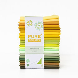 Pure Solids Half Yard Bundle in Sprouting