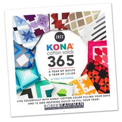 Kona Cotton Wall Calendar Panel in 2022