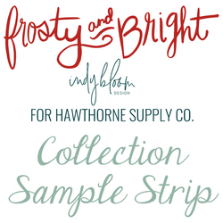 Frosty and Bright Sample Strip