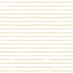 Watercolor Stripes in Soft Beige