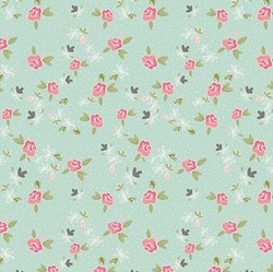 Ditsy in Mint