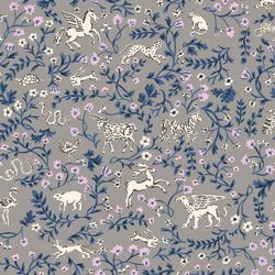 Mystical Animals in Taupe