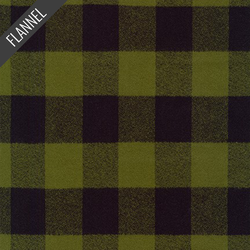 Mammoth Explore Plaid Flannel in Olive