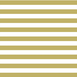Horizontal Candy Stripe in Brass