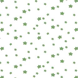 Star Light in Pistachio on White