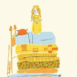 Princess and the Pea in Yellow