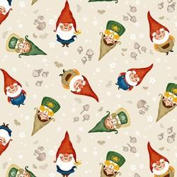 Sweet Gnomes in Ecru