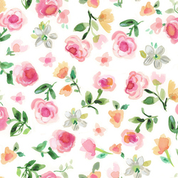 Rosey in White