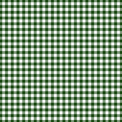 Little Gingham Check in Green Leaves