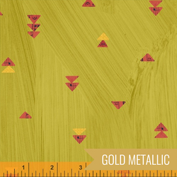 Floating Triangles in Olive Oil Metallic