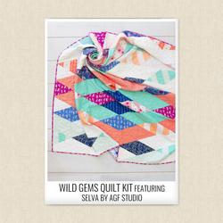 Wild Gems Quilt Kit
