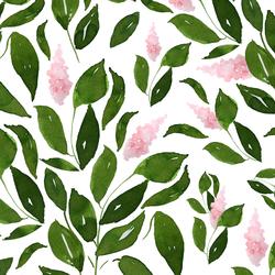 Blooming Sweetly in Leaf Green