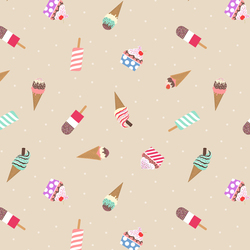 Ice Creams in Natural