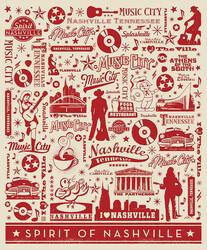 Poster Panel in Spirit of Nashville