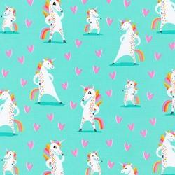 Magical Rainbow Unicorns in Mint