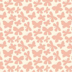 Winged Silhouette in Pink Petal