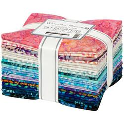 Artisan Batiks Fat Quarter Bundle in Watercolor Blossoms