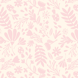 Spring Garden in Pink Lace