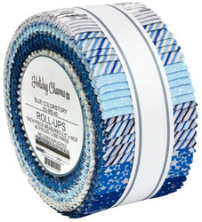Holiday Charms Roll Up in Blue Colorstory