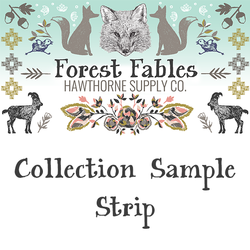 Forest Fables Sample Strip
