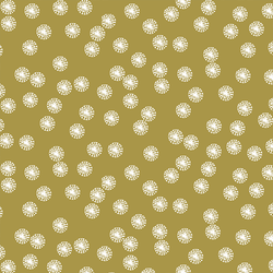 Dandelion Dot in Gold